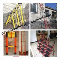Quality Straight fiberglass ladder Collapsible ladder Fiberglass Insulation ladder&straight for sale