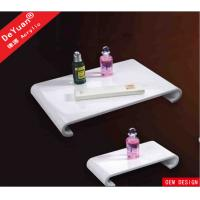 White Acrylic Display Stands Shower Serving Tray Custom 8mm Thickness