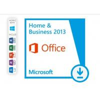 China Microsoft Office Home And Business 2013 Product Key , Office 2013 Retail Key For 1 PC on sale