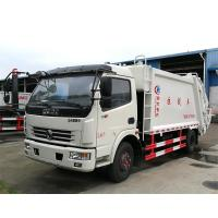 High Compacting Ratio Waste Management Garbage Truck 5 Ton Loading Capacity Manufactures