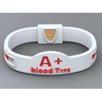 Quality Custom Silicone Bracelets Custom Rubber Bracelets For World Cup for sale