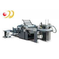 Electric Control Knife Thermal Book Binding Machine With PLC Control System Manufactures