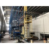 Robot Welding Radio Shuttle System , Warehouse Automatic Retrieval System Manufactures