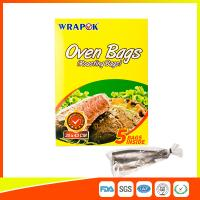 Multi Purpose Oven Cooking Bags For Food Storage , Plastic Oven Bags For Cooking Manufactures