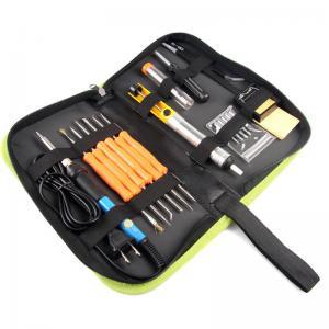 60W Soldering Iron Kit Adjustable Temperature 200V~230V Green K014 Manufactures