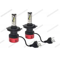 China Anti Glare 4800LM 6500K LED Headlight / H4 LED Headlight Bulb For Automotive on sale