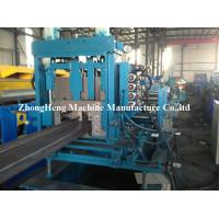 3 Roller Z Purlin Roll Forming Machine For Large Warehouse 2 - 3mm Thickness Manufactures