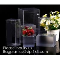 China Clear PET box with hanger  Window box clear box PVC box in pillow shape  Alternatives to paper box pvc box Printed PVC b on sale