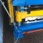Steel Sheet Roll Forming Machine PPGI GI IBR Trapezoid , Roof Sheet Rolling