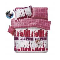Comfort Cotton Reactive Dyeing Sateen Bedding Sets , With 720 TC Composition Manufactures