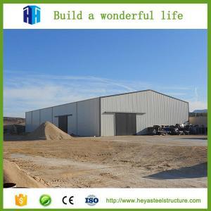 Prefab workshop steel garage building prefab warehouse for sale Manufactures