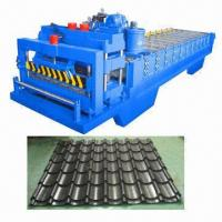 Tile Roll Machine, Forming Sheet Used as Roof Panel in Steel Constructions, 1-year Warranty Manufactures