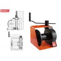 1 Ton Hand Lifting Winch With Brake / Handle Adjustment For Wharf Manufactures