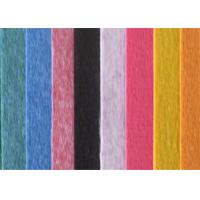 Colorful 100% Acrylic Felt Fabric 80gsm-700gsm Gram With 4m Width Manufactures