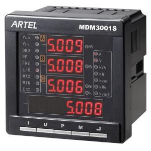 China Digital Multifunction Power Meter 3 Phase 240v Energy Pulse Output on sale