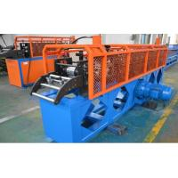 Cassette Top Hat Purlin Roll forming Machine 11 Forming station 12-15m/min line speed Size Quick change Manufactures
