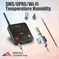 3G 4G GSM SMS Wifi GPRS Temperature Monitoring Humidity Data Logger 12V Input Max Manufactures