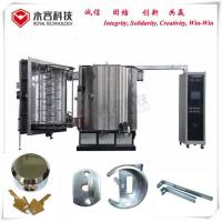 China Ion Metallization Pvd Vacuum Thin Film Coating Machine Multi Arc For Door Lock on sale
