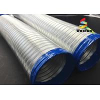 High Pressure Semi Rigid Flexible Ducting Aluminum Tube Flexible Air Conditioner Hose Manufactures