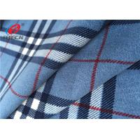 Imitate Cotton 100 % Polyester Velvet Fabric Warp Knitting For Home Textile Manufactures