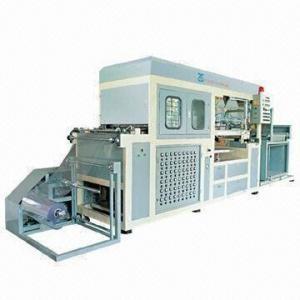 Plastic Vacuum-forming Machine, Automatic and PLC Control Manufactures