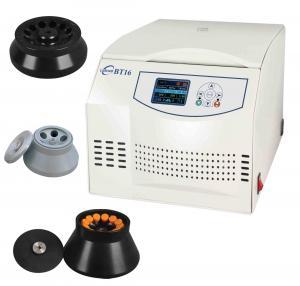 China 1-99 Minutes Adjustable Time Range Bench Top Lab Centrifuge BT16 on sale