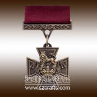 Shenzhen Factory Produce High quality cheap metal military medal Manufactures