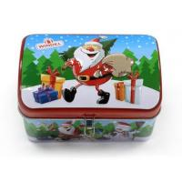 Vintage Christmas storage tins for gift Manufactures