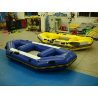 Quality PVC Materials Inflatable Thwarts Foot Pump Inflatable Sports Boat On the Lake for sale