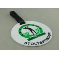 Customized 3D Design Soft PVC Plastic Luggage Tags / Personalized Bag Tags Manufactures