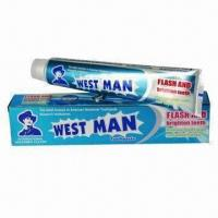 135g High-quality Toothpaste, GMP- and FDA-approved Manufactures