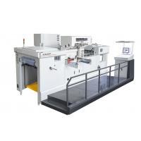Servo motor Fully automatic die cutting machine and foil stamping machine Manufactures