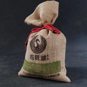 China Reusable Cotton Drawstring Bags Bulk / Economical Plain Canvas Drawstring Bags on sale