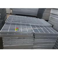 Serrated Bar Hot Dipped Galvanized Steel Grating Flat Weft Arrangement For Drainage Drain Manufactures