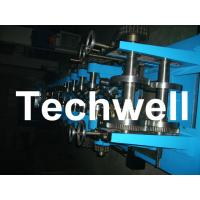 Quick Interchangeable CZ Purlin Roll Forming Machine with Pre - Cutting / Pre - Punching Manufactures