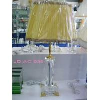 3 Feet Plug Crystal Glass Table Lamp (JD-AC-036) Manufactures