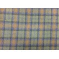 570 G/M Tartan Upholstery Fabric Soft , 70% Wool Blend Fabric Durable Manufactures