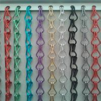 Assorted Aluminum Double Hooks Chain Fly Screen Door Curtain Manufactures