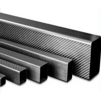 China Professional manufacturer carbon fiber square and rectangular tube for selling on sale