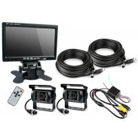 "HD Waterproof IP67 Rugged Truck Trailer Reverse Camera With Colour 7"" LCD Monitor Manufactures"