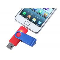 China Mobile OTG USB Driver metal 32GB Rotatable with Grade A Chip on sale