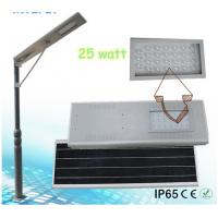 2015 High Quality CE RoHS High Power integrated solar street light, Solar Street Lamp Manufactures
