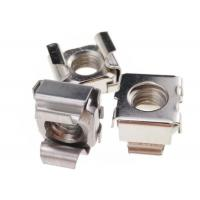 Polished Hardware Nuts Bolts Sqaure Mounting Stainless Steel M6 Cage Nuts Manufactures