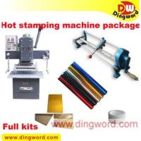 Professional hot foil stamping business start up full kit CT-65,hot foil stamping machine Manufactures