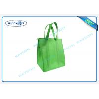 eco promotional long handle pp non woven cooler bag with zipper Manufactures