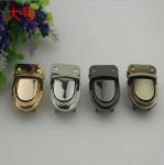2018 New style high quality various colors zinc alloy handbag push locks Manufactures