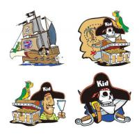Cartoon Style Temporary Body Tattoo Stickers Water Proof For Children Manufactures