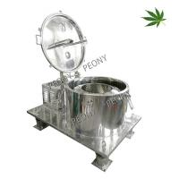 China CBD Oil Extraction Industrial Centrifuge Cannabis Drying Machine With Filter Bag on sale