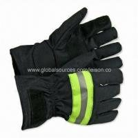 Fire Fighting Gloves with Four Layers, Anti-heat Radiation, Flame-/Water-/Oil-resistant Manufactures