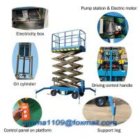 China OEM SJY1.0-10 Scissor Lift Load 1000kg Safety Device Battery Moving or Lifting on sale